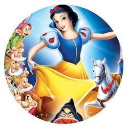 Modew Dekoracyjny opłatek tortowy princess - księżniczki - 20 cm - 7