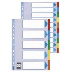 Przekładki indeksujące Esselte A4/12kart, kolor 100194