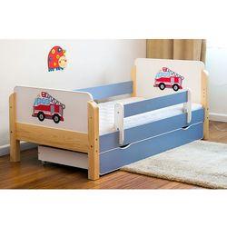 Łóżko dziecięce drewniane Kocot-Meble STRAŻ POŻARNA Kolory Negocjuj Cenę