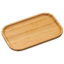 Kesper Deska do serwowania z drewna bambusowego, deska kuchenna, półmisek, taca, naczynia bambusowe, akcesor