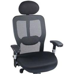 Fotel ergonomiczny corpocomfort bx-4029a czarny marki Beauty system