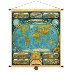 Świat mapa ścienna 97x115 cm Pergamena - oferta [f547deaa0f33f7d5]
