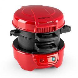 Oneconcept morning glory opiekacz do kanapekopiekacz do burgerów 600 w nonstick czerwony (4260457485812)