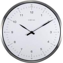 Zegar ścienny 60 minutes biały by marki Nextime