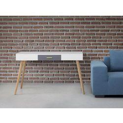 Biurko białe - meble biurowe - stolik - biurko komputerowe - RUSH