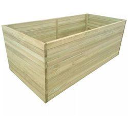 vidaXL Donica ogrodowa, impregnowane drewno sosnowe, 150 x 100 77 cm
