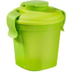 CURVER BIDON MAŁY LUNCH&GO - Zielony - produkt z kategorii- Pozostałe delikatesy
