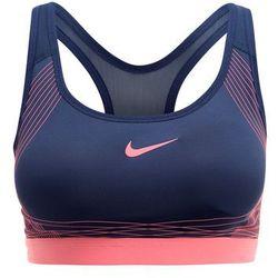 Nike Performance Biustonosz sportowy squadron blue/lava glow/bright melon - produkt z kategorii- Bielizna spor