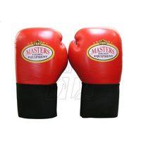 Rękawice bokserskie Masters RBT-60 10 oz czerwone z kategorii Rękawice do walki