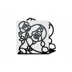 """Gazetownik metalowy """"Kwiaty"""" g07"""