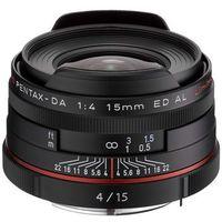 Pentax HD DA 15mm f/4 ED AL Limited (czarny), 21470