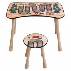 Stolik dziecięcy z krzesełkiem Tor, 65 x 41 x 47 cm (8595556465189)