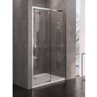 porta drzwi prysznicowe 100x200 prawe, profile chrom, szkło czyste exk-1046 * wysyłka gratis marki New trend