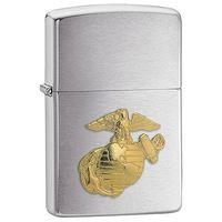 Zapalniczka  marines emblem, brushed chrome marki Zippo