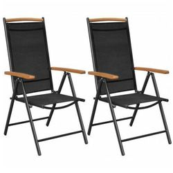 Elior Składane krzesła ogrodowe amareto 2 szt.