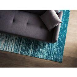 Dywan niebieski 160 x 230 cm poliester KATERINI (7105279424649)