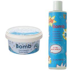 Bomb Cosmetics Zestaw dla Niej: żel pod prysznic 300ml + masło do ciała 210ml