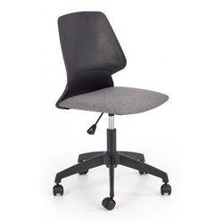 Młodzieżowy fotel obrotowy tytan - czarny + popielaty marki Producent: elior