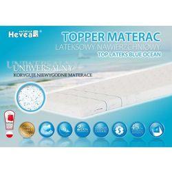 Hevea Materac nawierzchniowy topper lateksowy + poduszka 45/45 gratis!