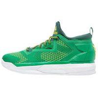 adidas Performance D LILLARD 2 PK Obuwie do koszykówki green/collegiate green/bright yello