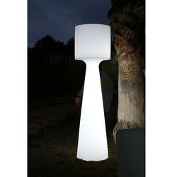 lampa ogrodowa grace 170 c biała - led marki New garden