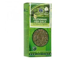 PIĘCIORNIK GĘSI ZIELE herbatka ekologiczna