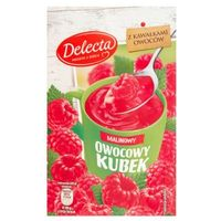 Delecta  30g owocowy kubek kisiel smak malinowy