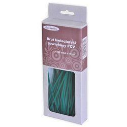 Gardetech Drut kwiaciarski powlekany pcv 15cm 100szt (5061)