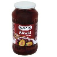 Śliwki połówki 720 ml Rolnik (5900919003930)