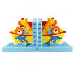 Podpórka pod książki dla dzieci - Arka Noego