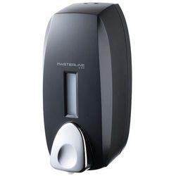 Dozownik do mydła w pianie 0,75 litra Bisk MASTERLINE plastik czarny, 07239