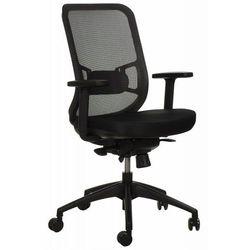 Krzesło obrotowe biurowe gn-310/szary z wysuwem siedziska marki Stema - gn
