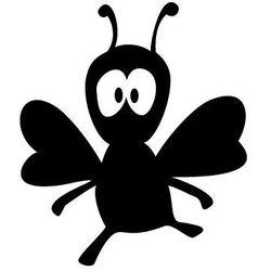 Szablon malarski z tworzywa, wielorazowy, wzór dla dzieci 16 - pszczółka elwira marki Szabloneria