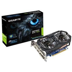 Gigabyte GTX750Ti OC 4GB DDR5 128BIT 2 DVI/2 HDMI DARMOWA DOSTAWA DO 400 SALONÓW !!, kup u jednego z partner�
