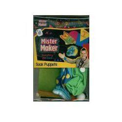 Pan Robótka - Skarpetkowe pacynki, produkt marki Mister Maker