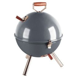 Grill okrągły szary Mini BBQ CO-672061 (śr. 30 cm), towar z kategorii: Grille