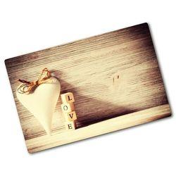 Deska kuchenna duża szklana Miłość Powiedzenia