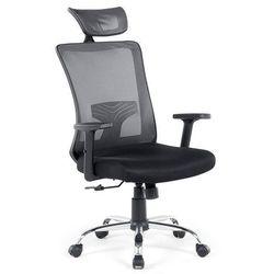 Krzesło czarne - biurowe - obrotowe - komputerowe - NOBLE (4260580923601)