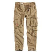 Spodnie surplus airborne slimmy beige washed (05-3603-74), Surplus / niemcy, S-XXL