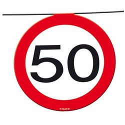 Folat Baner flagi znak zakazu 50tka - 12 m - 1 szt. (8714572051835)