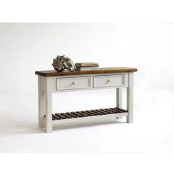 Toaletka z litego drewna sosnowego BODE 130/40/75 cm (4027207002084)