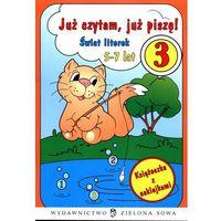 Już czytam, już piszę! 3. Świat literek, Małgorzata Czyżowska