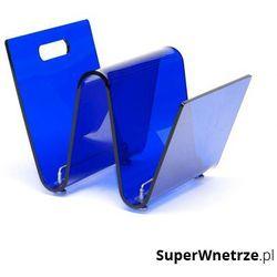 D2 Gazetnik 33x26cm os niebieski