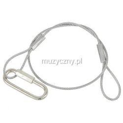 American DJ safety 60cm (10kg) 3mm - linka zabezpieczająca - produkt z kategorii- Pozostałe oświetlenie
