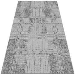Nowoczesny dywan na balkon wzór Nowoczesny dywan na balkon wzór Szara mozaika