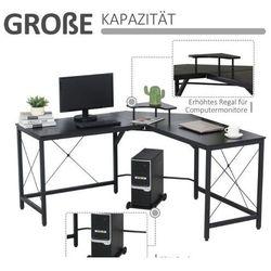 Biurko narożnikowe biurowe 3 modele marki Aosom