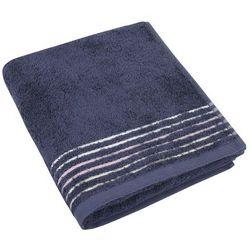 Bellatex Ręcznik kąpielowy Fiona szaroniebieski, 70 x 140 cm