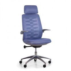 B2b partner Krzesło biurowe z oparciem siatkowym sitta grey, niebieski
