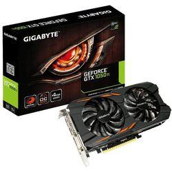 Gigabyte GeForce GTX 1050 Ti WindForce OC 4G 4GB z kategorii Karty graficzne