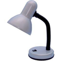 Lampka biurkowa CARIBA model K-MT-203 marki Kaja srebrny, LAMKMT203SREBRNY